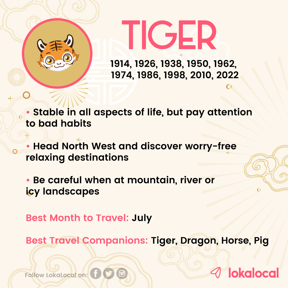 Year of the pig 2020 for tiger